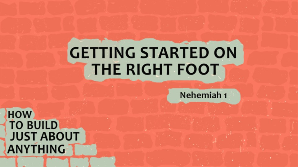 Starting on the Right Foot