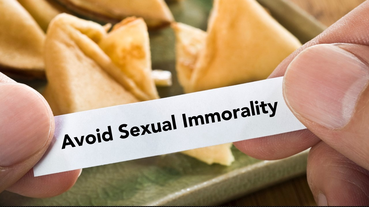 Avoid Sexual Immorality