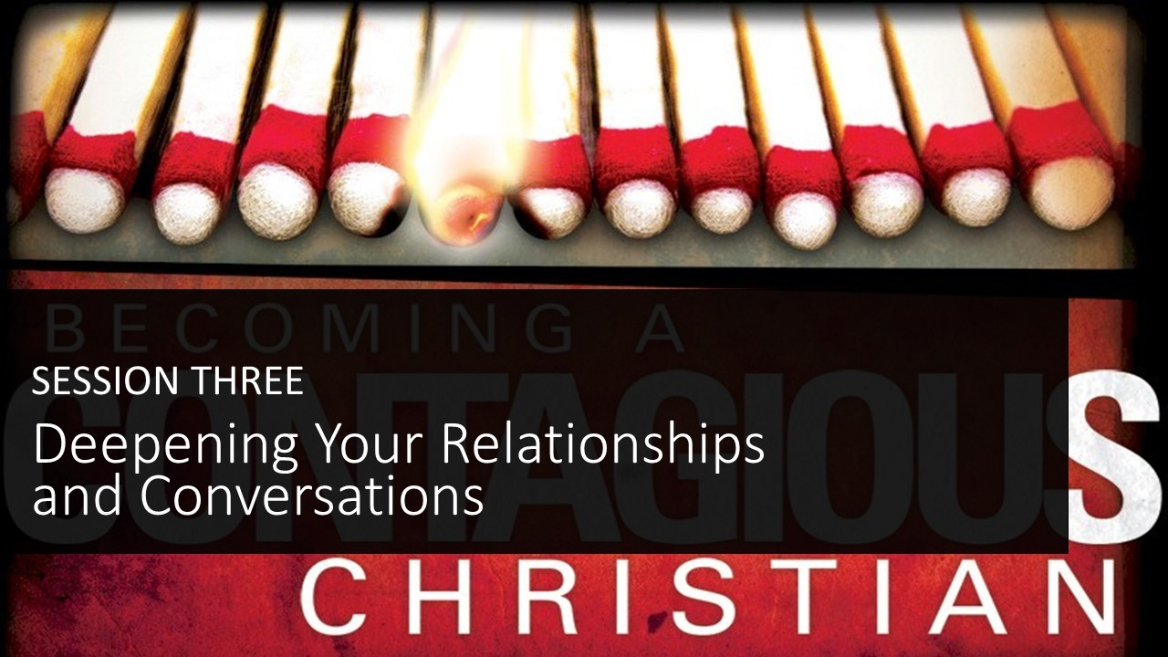 Deepening Your Relationships and Conversations